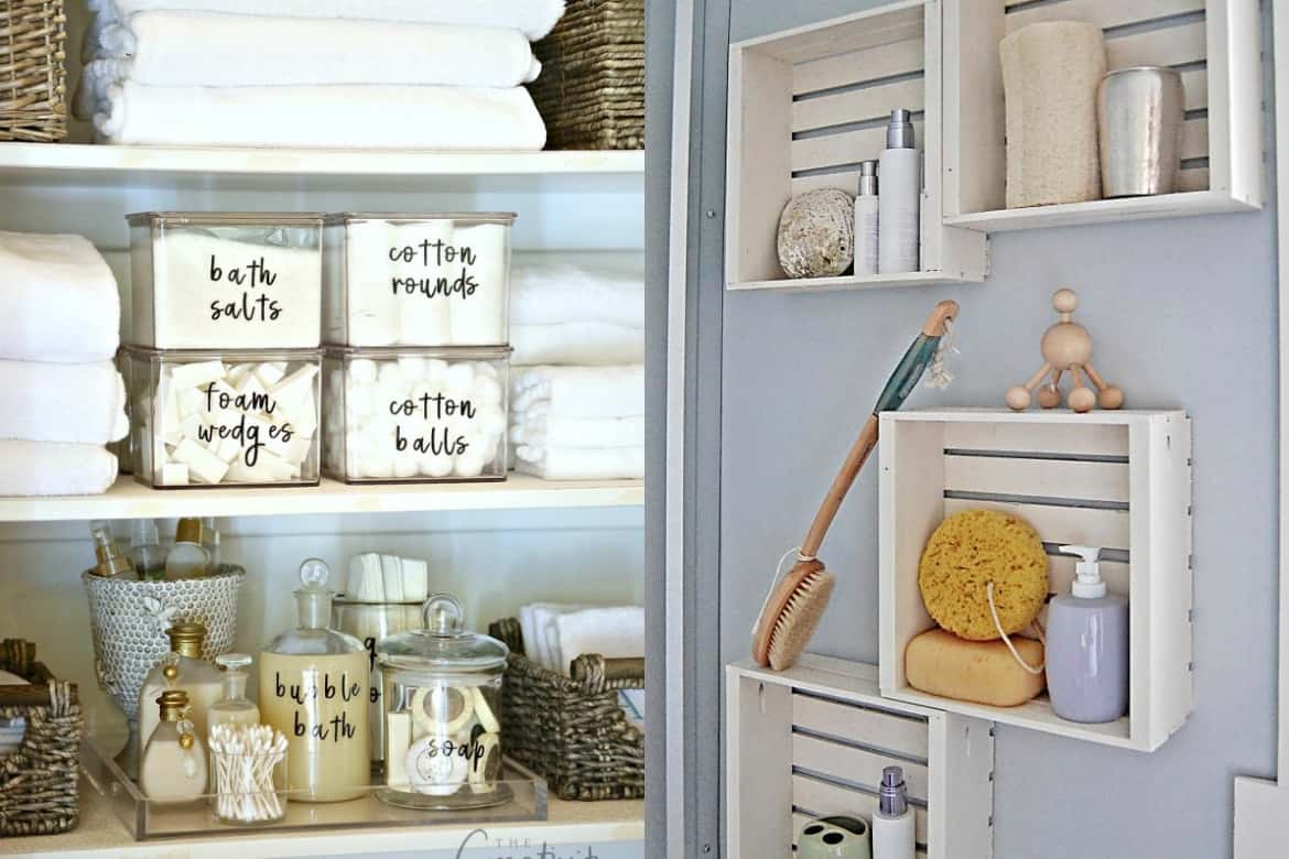10 life changing ideas to organize your bathroom savvy honey Bathroom organizing ideas
