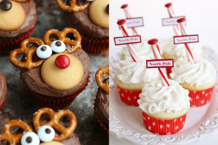 10 Fun Kid Approved Christmas Cupcake Ideas