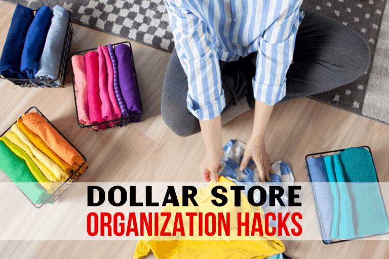 8 Easy Dollar Store Organizing Hacks For Your Home