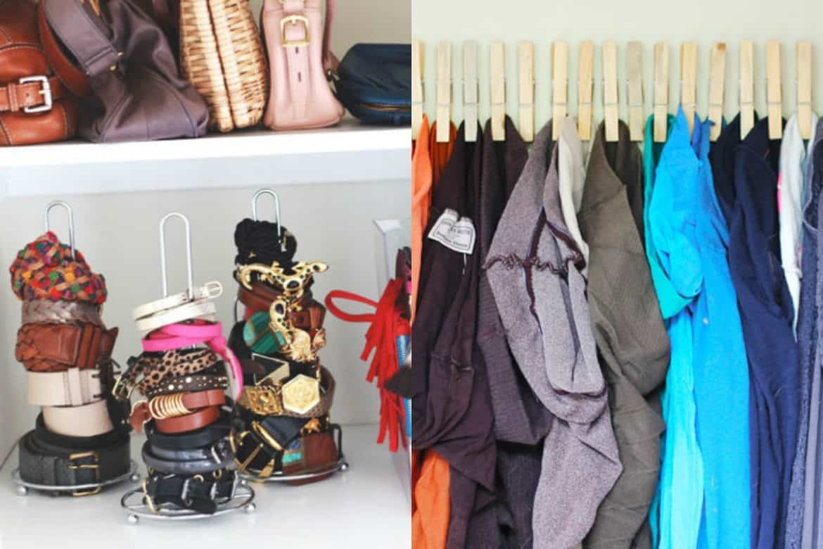 10 Smart Dollar Store Organizing Ideas to Tame Your Unruly Closet ...