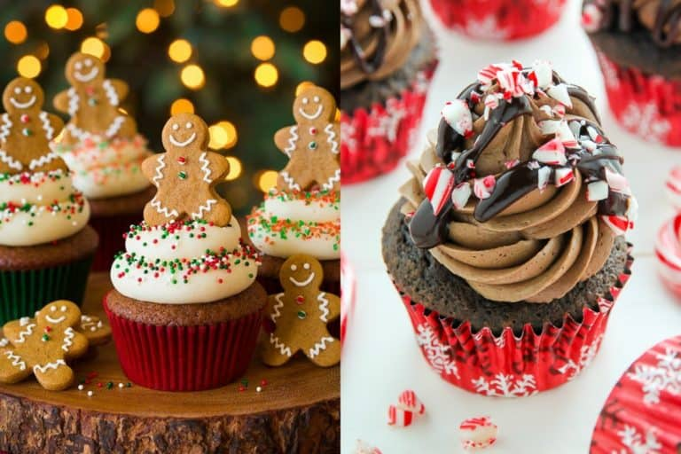 10 Best Christmas Cupcakes Bursting With Holiday Flavor