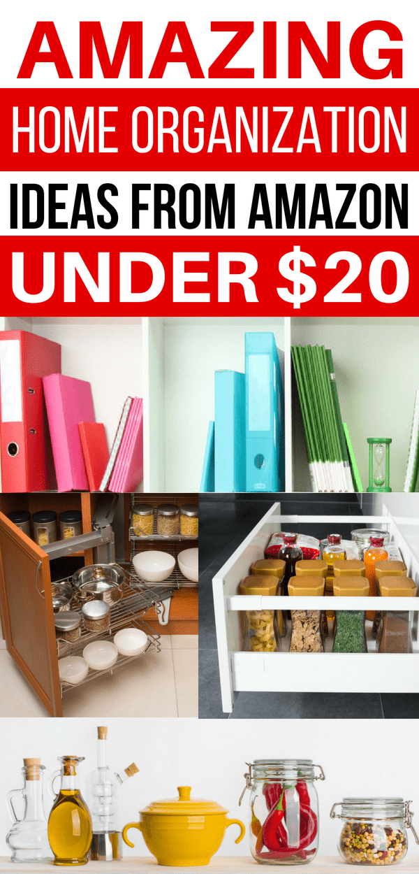 Cheap Home Organization Ideas, Organizing Ideas On a Budget #organization #organisation #organize #organizing
