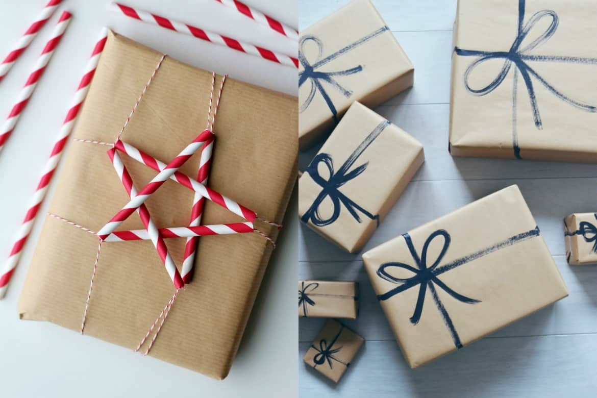 10 genius gift wrapping hacks savvy honey 10 genius gift wrapping hacks negle Images
