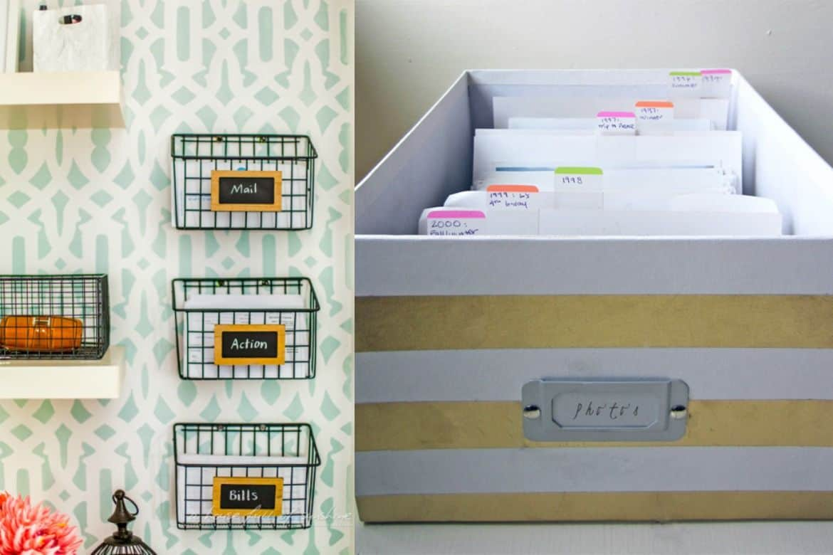 Home Office Organization Files How To Organize