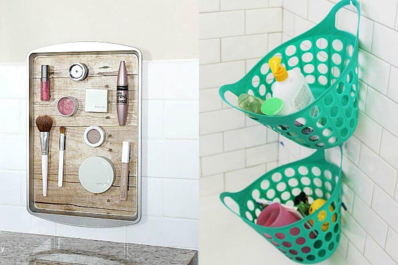 Bathroom Organization Ideas From the Dollar Store