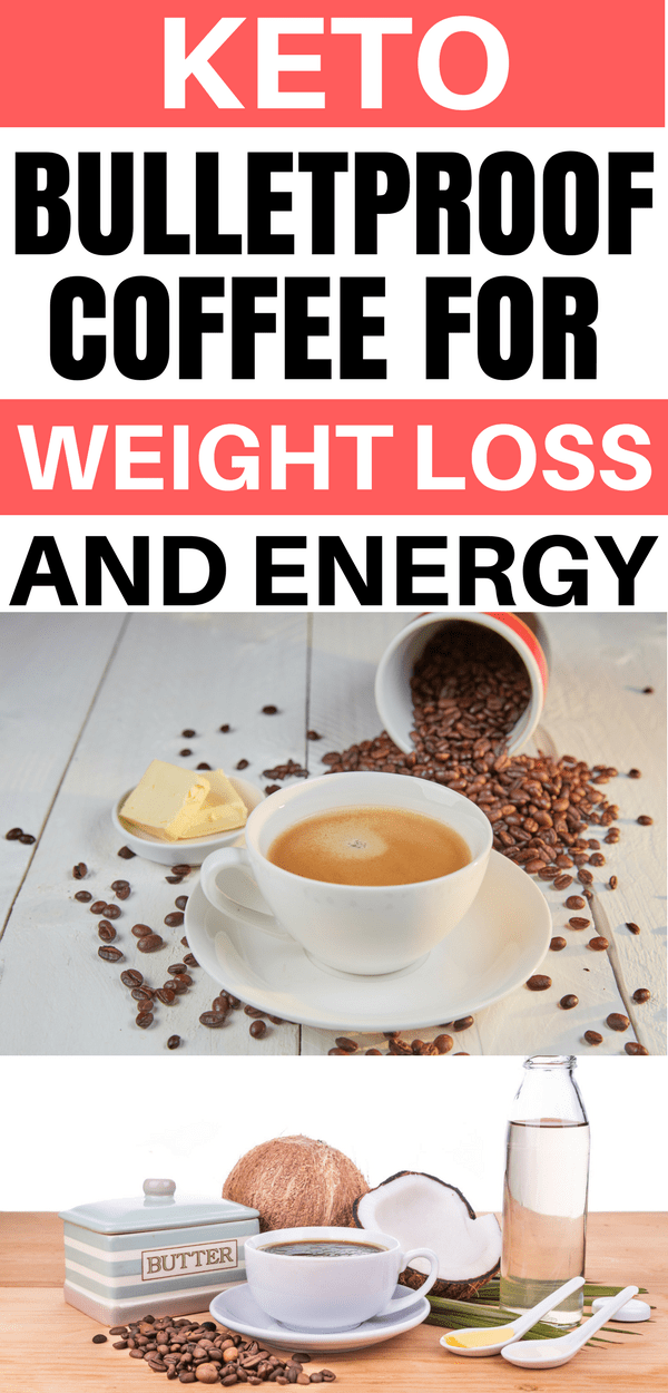 Bulletproof Coffee Recipe to help lose weight on the keto diet.