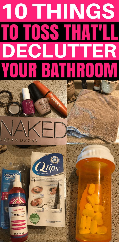 Bathroom Organization, Bathroom Organizing Ideas