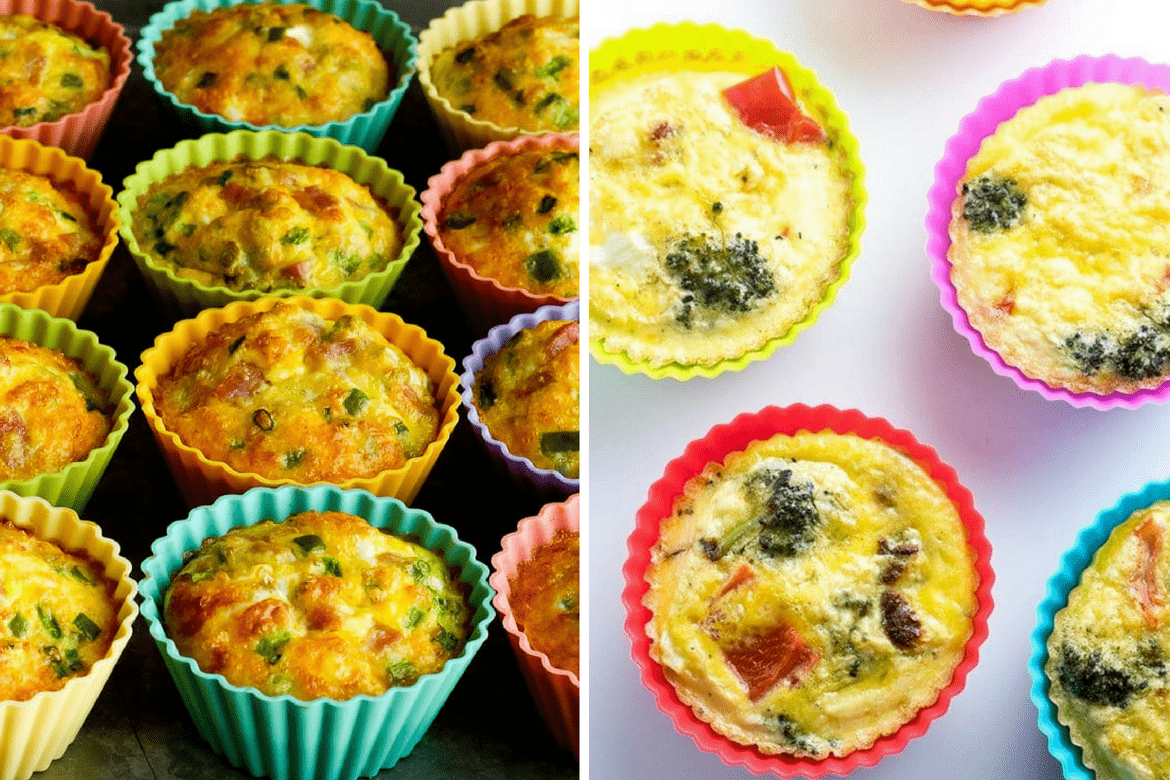 Breakfast Egg Muffins - Keto, Low Carb