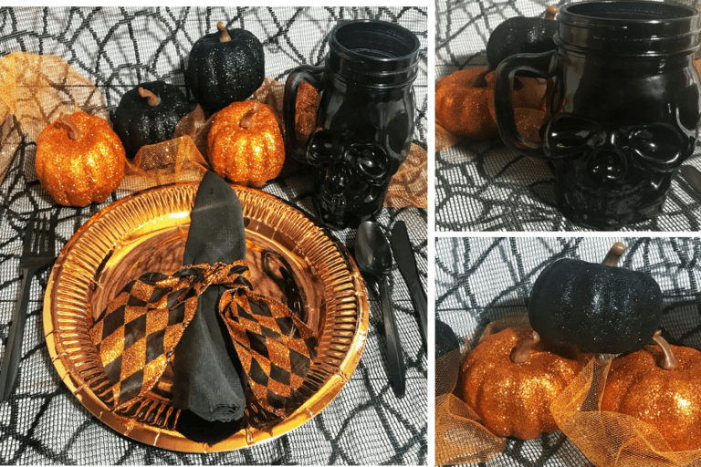 Awesome Dollar Store Halloween Party Table Decorations