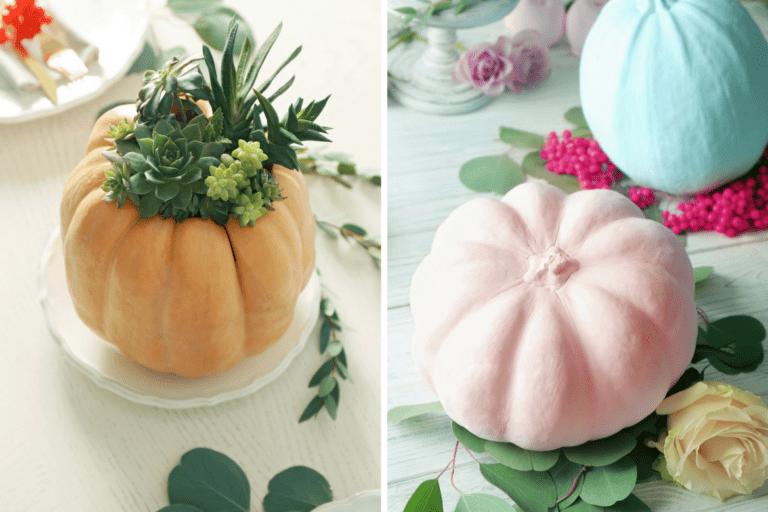 13 Easy No-carve Pumpkin Decorating Ideas For Halloween