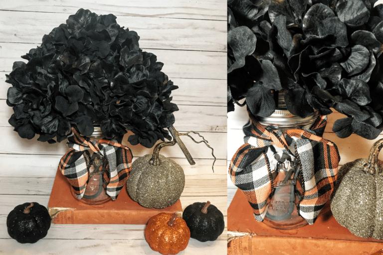 Pretty DIY Halloween Decor Ideas With Farmhouse Style