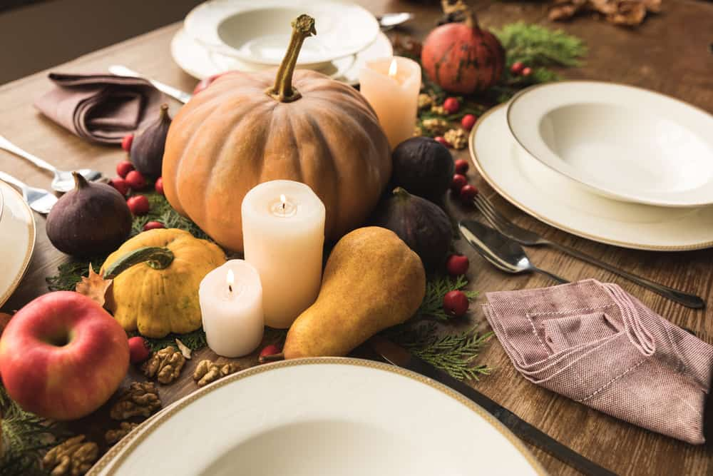 Thanksgiving Table Decorations Ideas