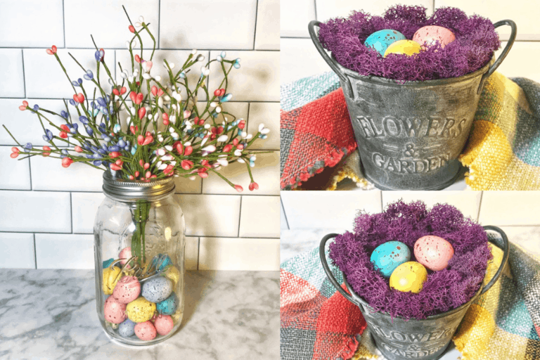 Easy DIY Farmhouse Easter Decorations For Your Home