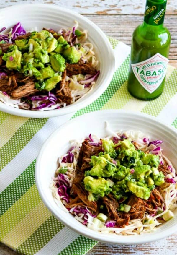 Keto Mexican Food Recipes - Chili, Beef, Cabbage Bowl