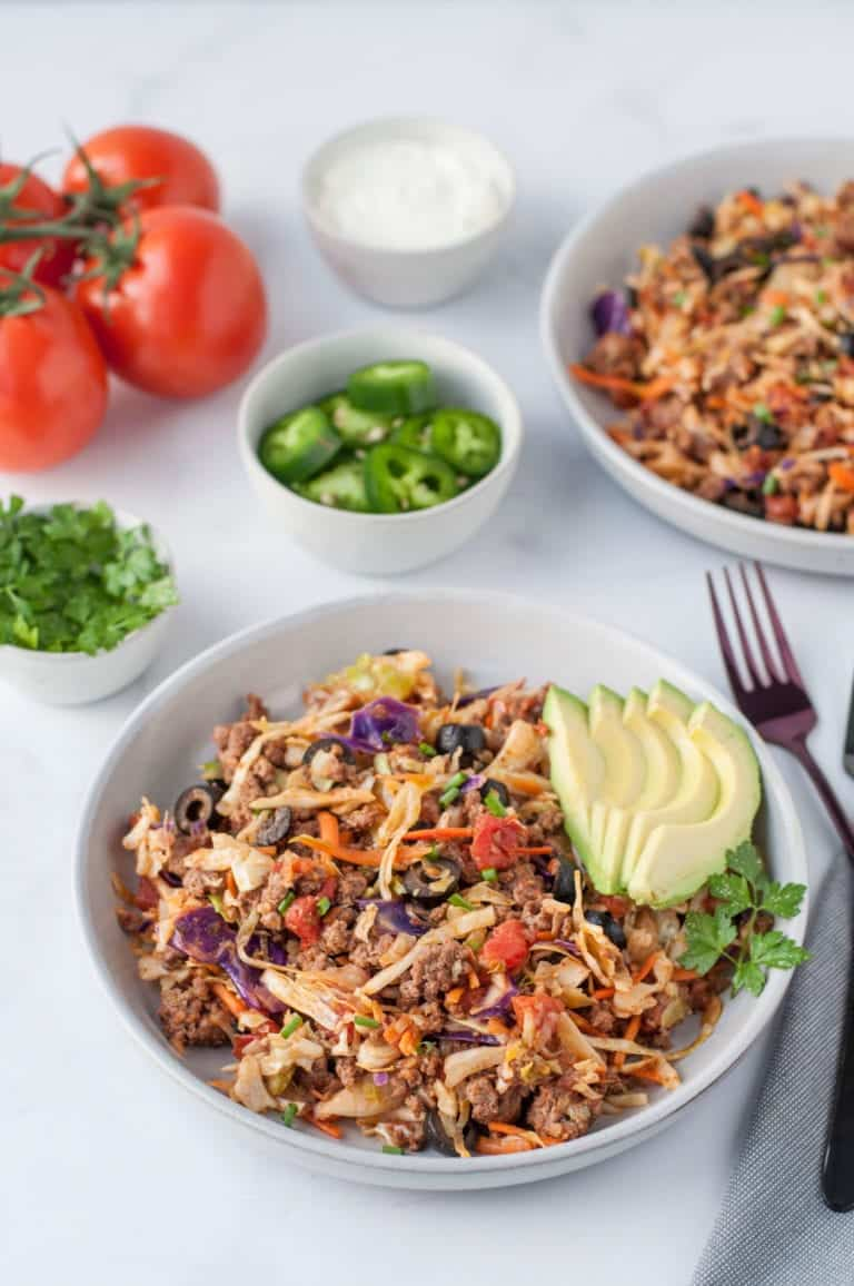 Keto Mexican Taco Slaw Recipe
