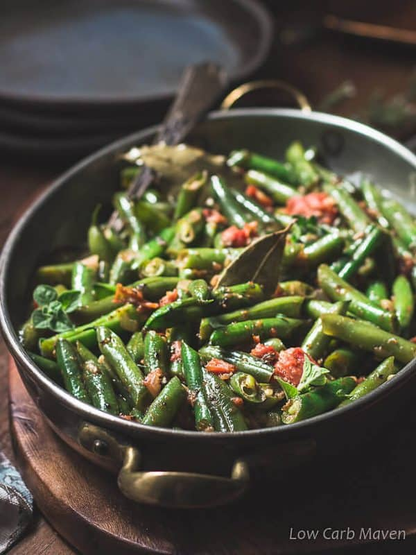 Mexican Green Bean Side Dish