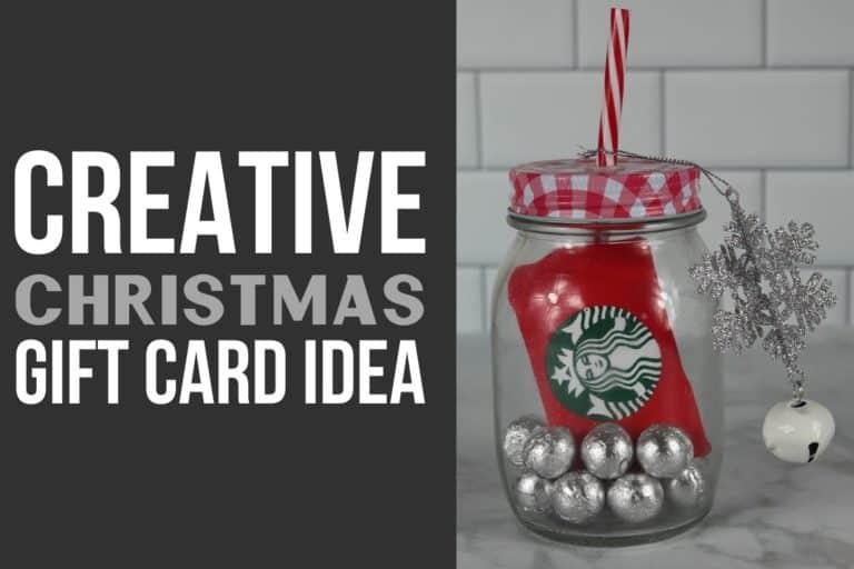 Creative DIY Christmas Gift Card Idea For The Holidays