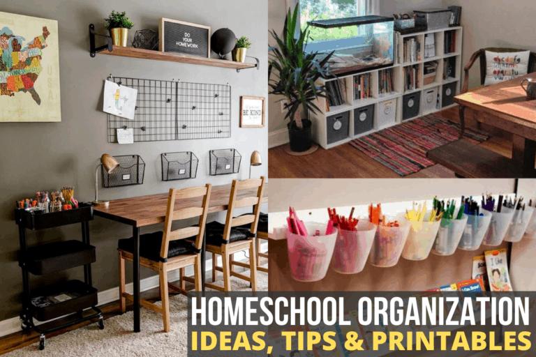50+ Homeschool Room Organization Ideas
